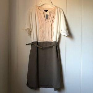 Ann Taylor 3 Tone Midi Dress